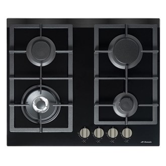Premium Gas on Glass Cooktop + FFD + Wok Burner - 610mm