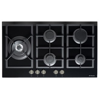 Premium Gas on Glass Cooktop + FFD + Side Wok Burner - 870mm