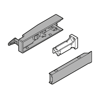 CABLOXX Front locking bracket