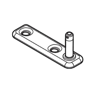 AVENTOS HK-XS stay lift cabinet fixing screw-on