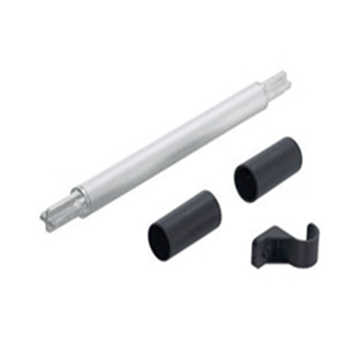 AVENTOS HS up & over lift system connecting piece for cross stabiliser pre-mounted round