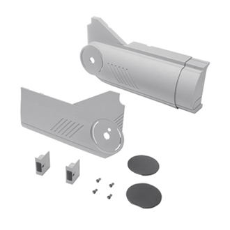 AVENTOS HL lift up cover cap set (incl. Trigger switch for drilling enclosed) right+left for SERVO-DRIVE