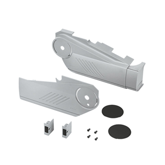 AVENTOS HS up & over lift system cover cap set (incl. Trigger switch for drilling enclosed)