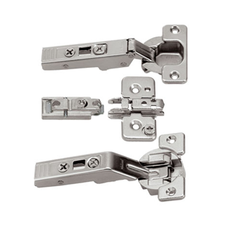 CLIP top centre hinge for AVENTOS bi-fold lift systems 134 Degree (set) unsprung boss: screw-on