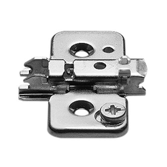 CLIP mounting plate steel screw-on HA: cam