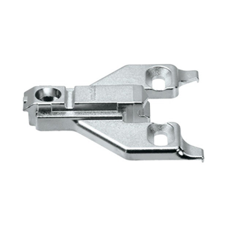 CLIP mounting plate zinc screw-on HA: elongated hole