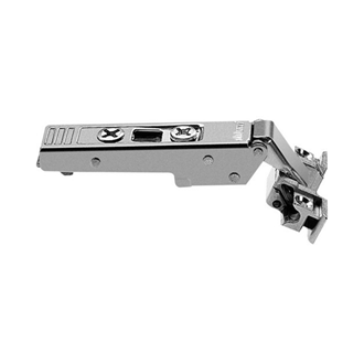 CLIP top alu frame door hinge 120 Degree overlay application unsprung boss: screw-on