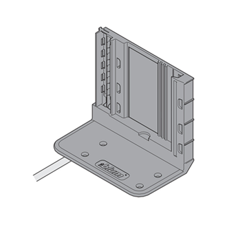 SERVO-DRIVE attachment bracket for 2 drive units with cable