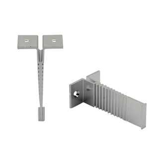 Wardrobe Round Rail Hanging Bracket