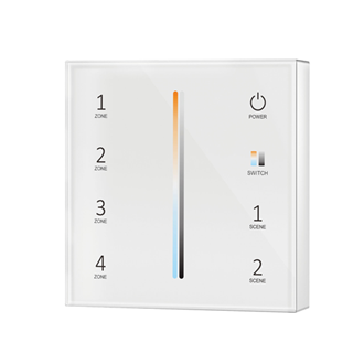 Wireless Touch Panel Dual White 4 Zone