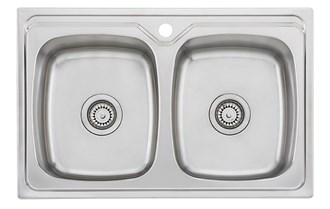Oliveri Endeavour Double Bowl Universal Sink