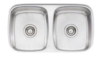 Oliveri Endeavour Double 1135mm Bowl Undermount Sink