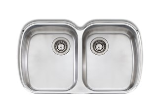 Oliveri Monet Double Bowl Undermount Sink