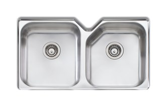 Oliveri Nu-Petite Double Bowl Undermount Sink